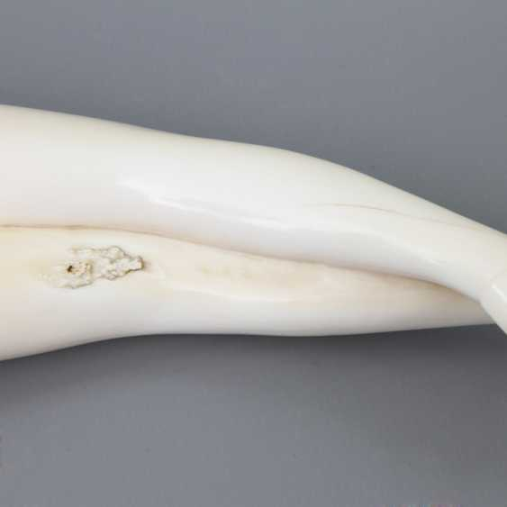 "Fine, ""Doctors Lady"" of ivory. CHINA, around 1900 - photo 4"