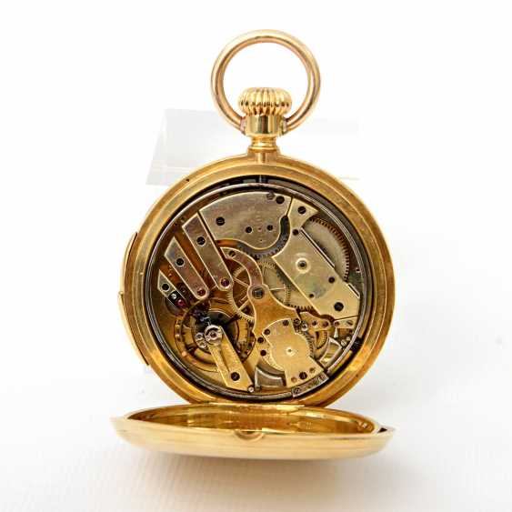 Pocket watch, Savonette hand winding (running), - photo 4