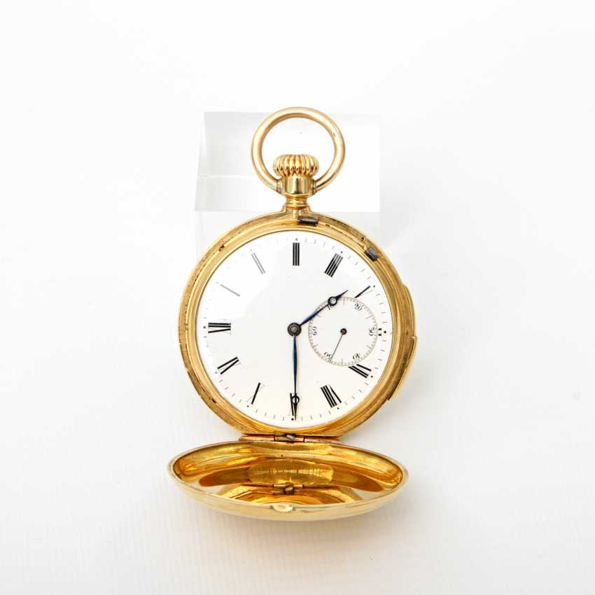 Pocket watch, Savonette hand winding (running), - photo 1