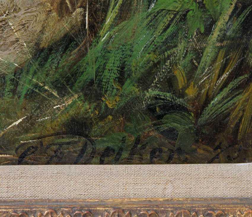 "DEIKER, CARL FRIEDRICH (Wetzlar 1836-1892 Düsseldorf), ""the deer family"" - photo 3"