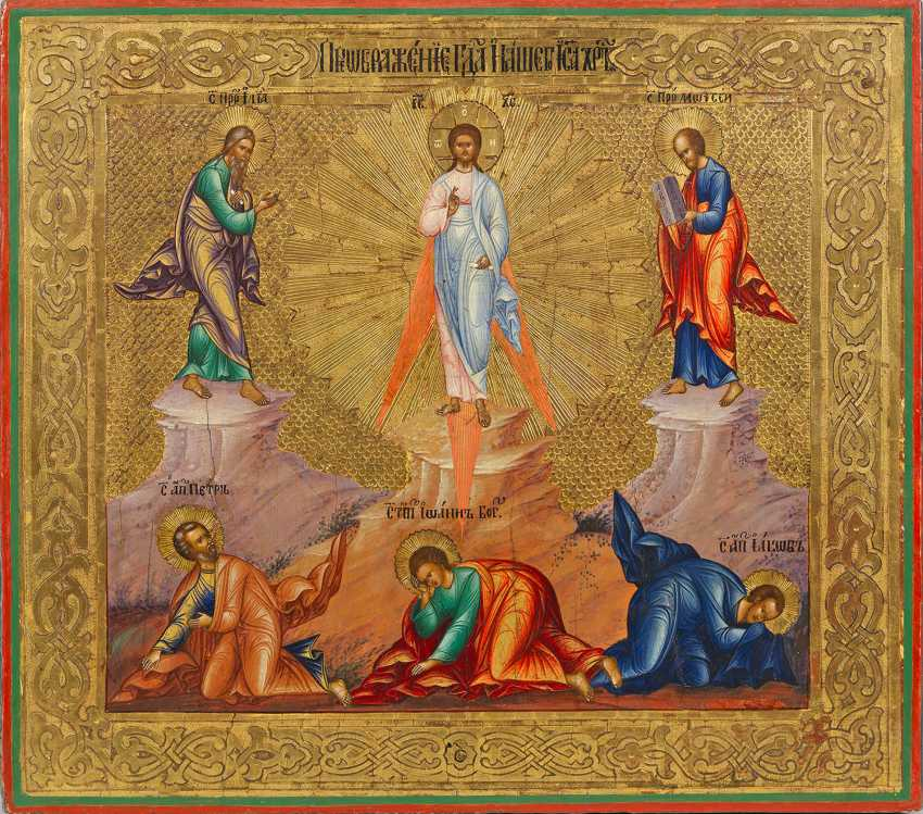 "Icon ""Transfiguration of the Lord"" - photo 1"