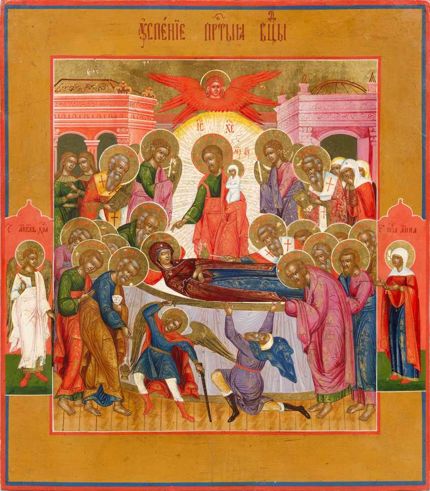 "Icon ""Dormition of the mother of God"" - photo 1"