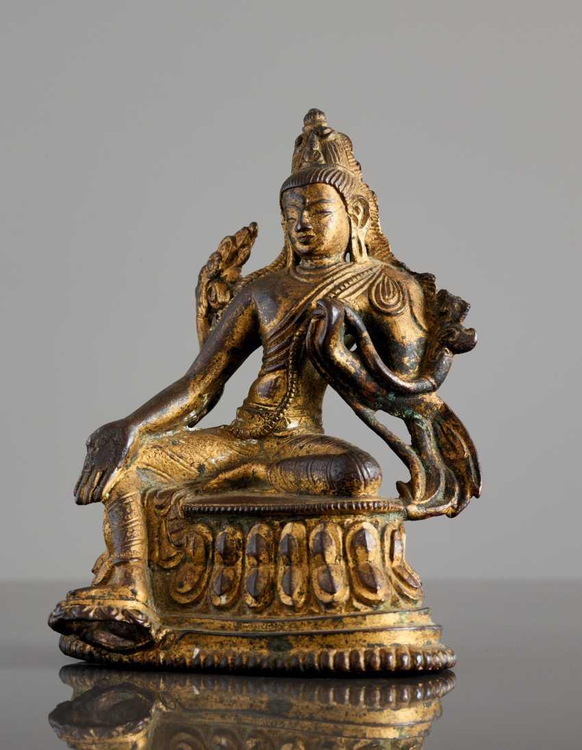 BUDDHISTISCHER BODHISATTVA SYAMATARA