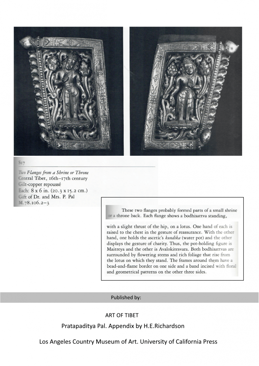 SAMANTABHADRA AND THE BUDDHA IN FRIEZE PART - photo 5