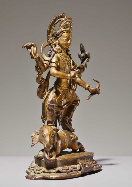 THE DEITY IS INDRA ON ELEPHANT - photo 2