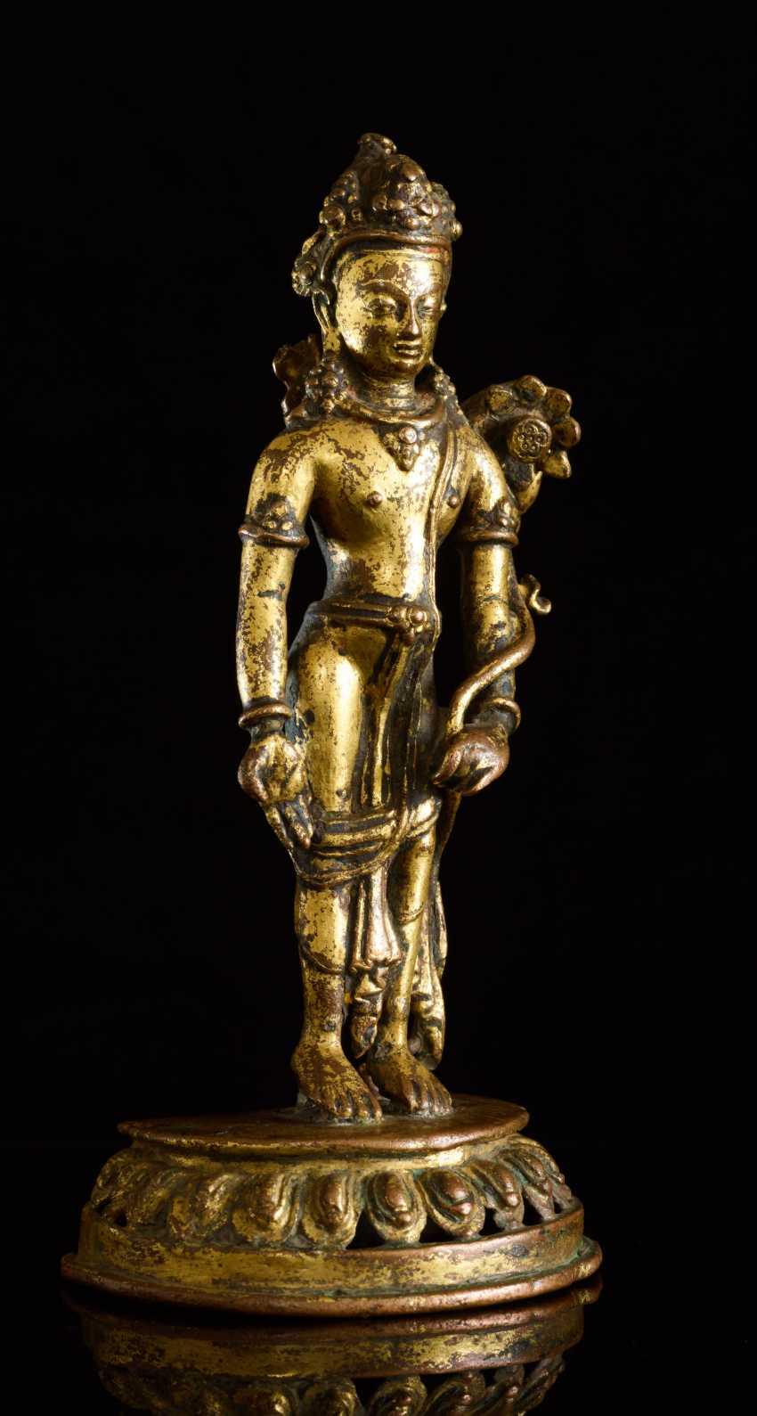 BUDDHISTISCHER BODHISATTVA PADMAPANI - photo 2
