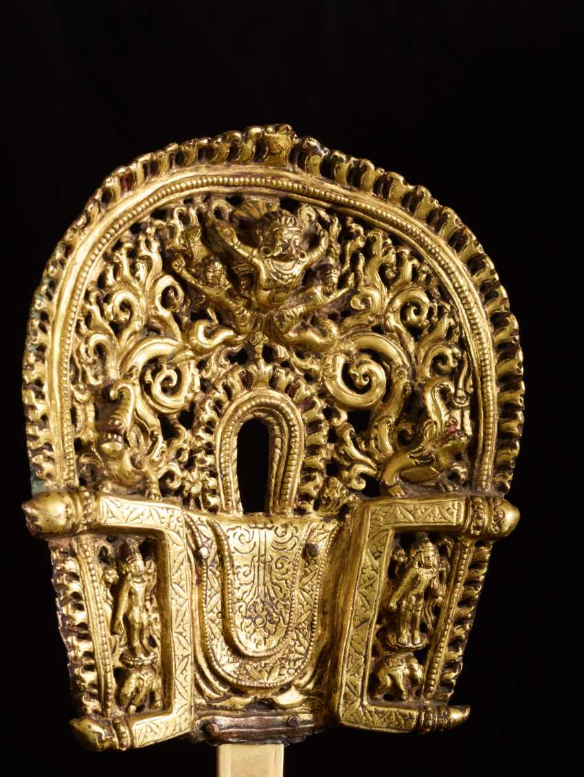 BUDDHISTISCHER BODHISATTVA PADMAPANI - photo 3