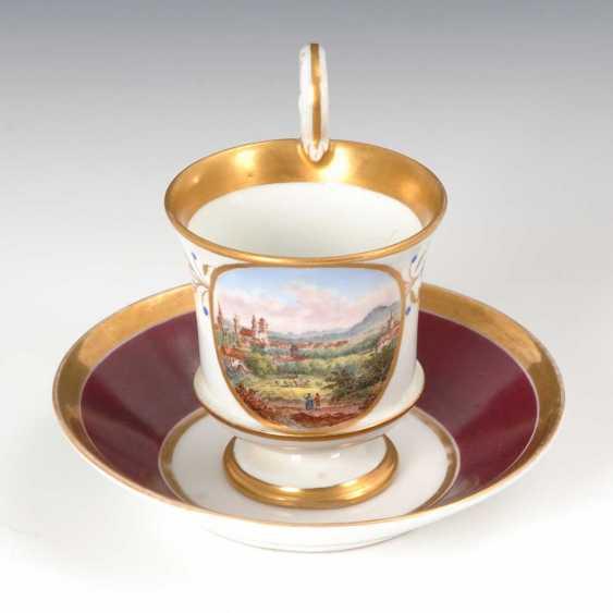 """View Cup """"Zittau"""", Meissen. - photo 1"""