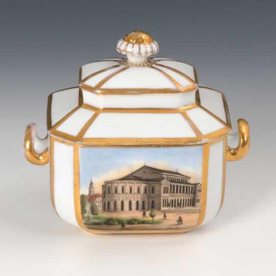 Sugar bowl with Gotha-views. - photo 1
