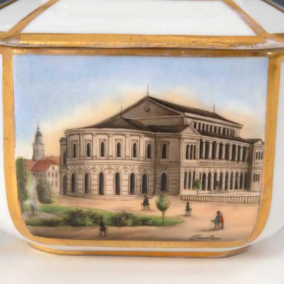 Sugar bowl with Gotha-views. - photo 2