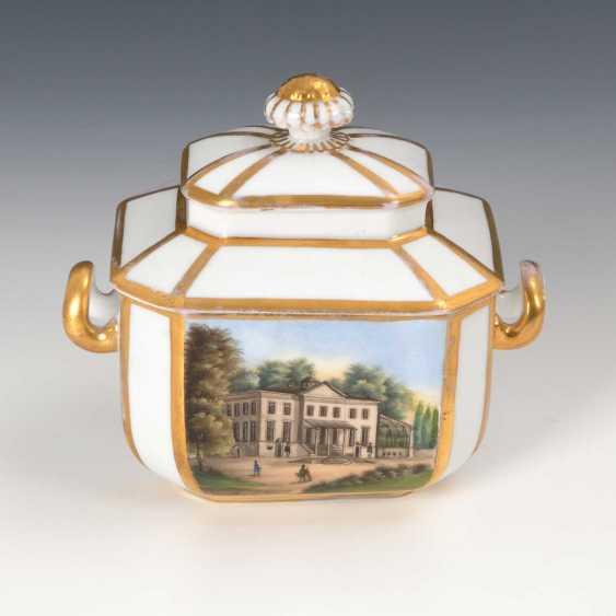 Sugar bowl with Gotha-views. - photo 3