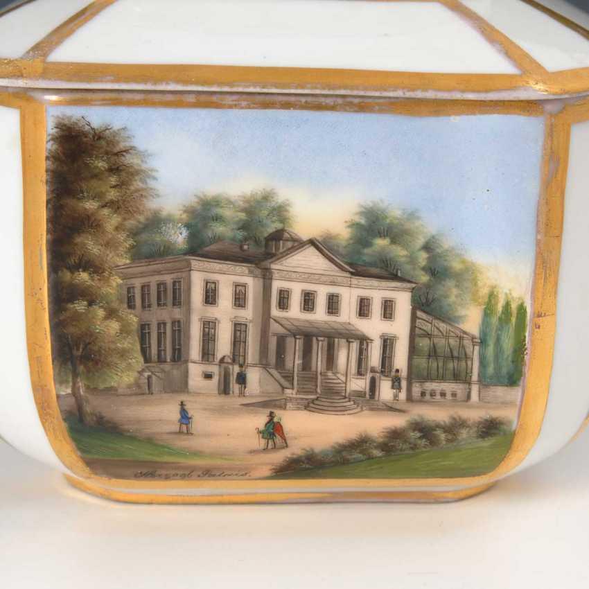Sugar bowl with Gotha-views. - photo 4