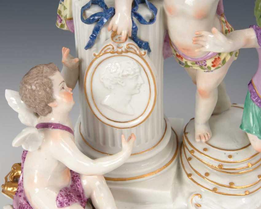 "Allegory Of ""Glory"", Meissen. - photo 2"