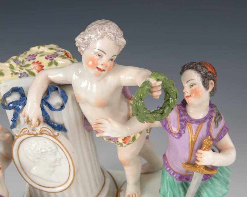 "Allegory Of ""Glory"", Meissen. - photo 4"