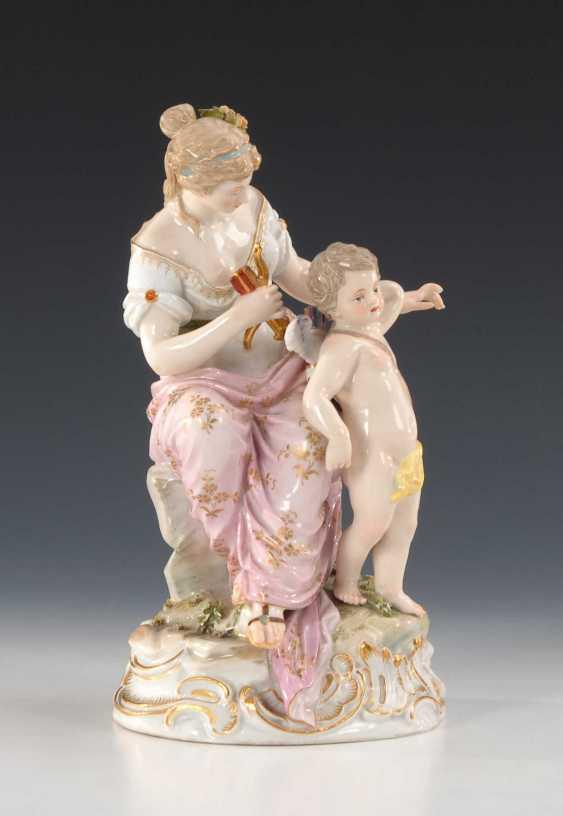 Venus and Cupid, Meissen. - photo 2