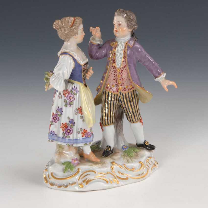 Children Couple: Jealousy, Meissen. - photo 1
