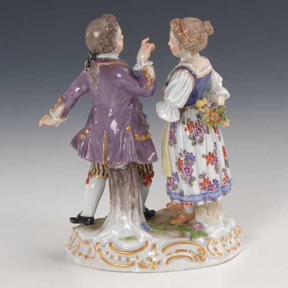 Children Couple: Jealousy, Meissen. - photo 2