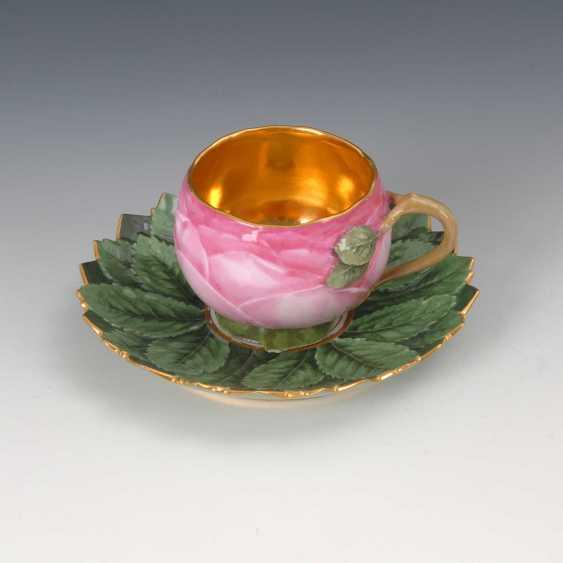 Rare Rose Cup, Meissen. - photo 1
