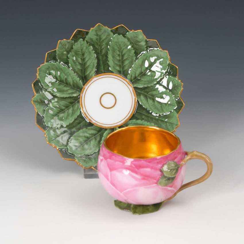 Rare Rose Cup, Meissen. - photo 2