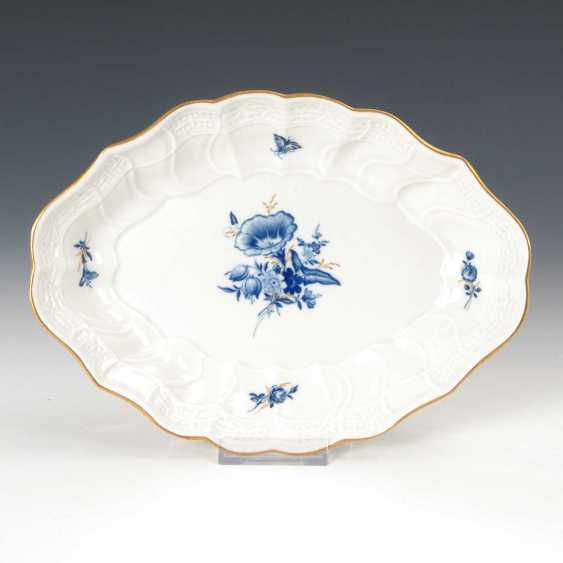 Bowl with blue painting, Meissen. - photo 1