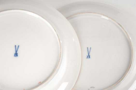 2 cake plate with dragon painting, Meis - photo 2