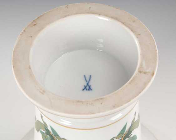 Crater vase with dragon painting, Meissen. - photo 2