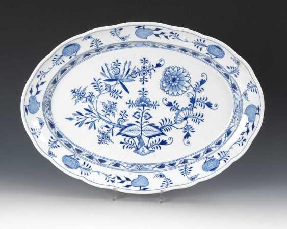 Onion Pattern Plate, Meissen. - photo 1