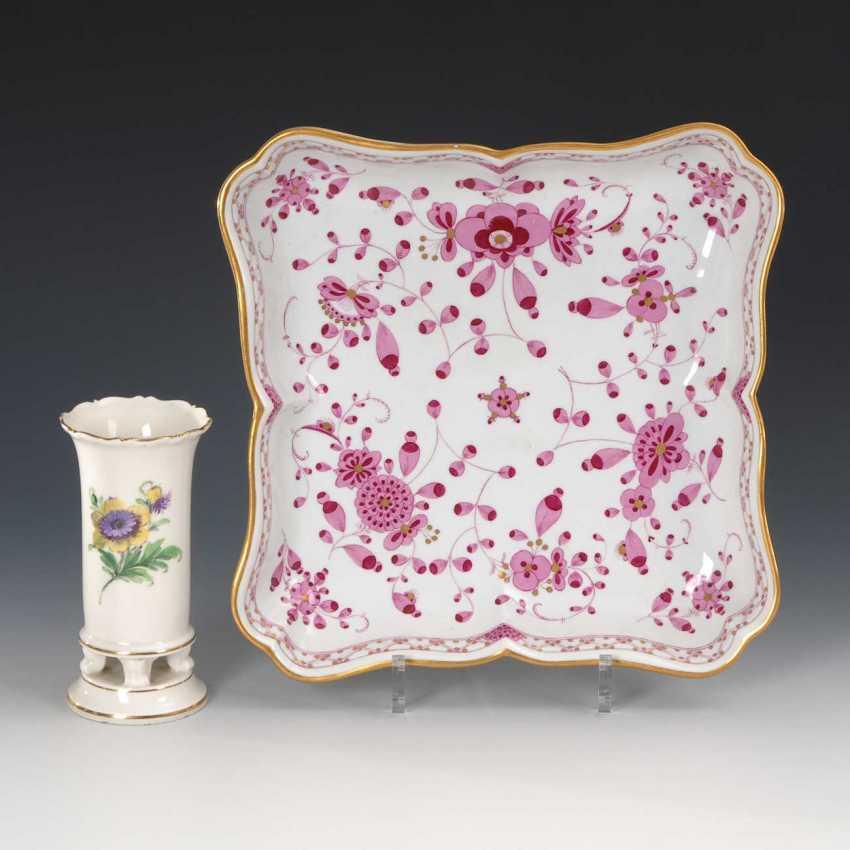 Bowl and Vase, Meissen. - photo 1