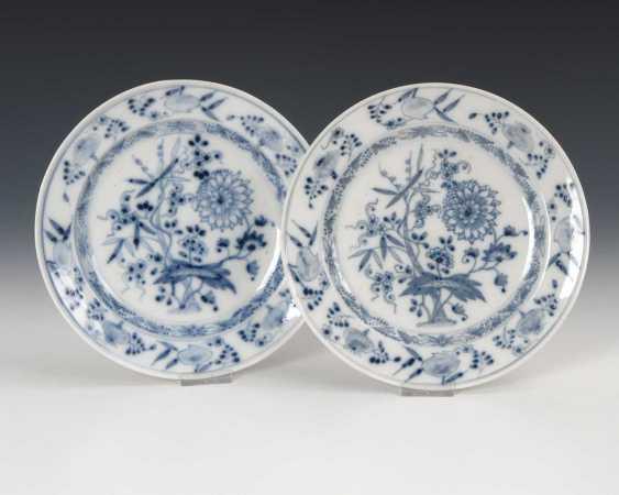 2 Onion Pattern Dish, Meissen. - photo 1