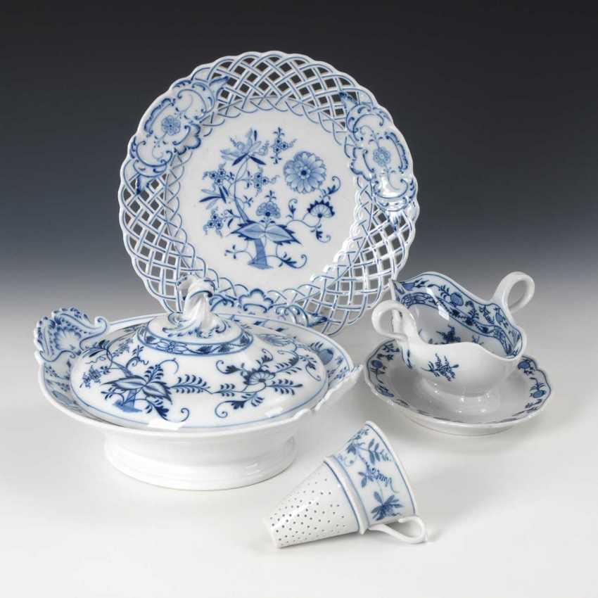 4 Parts Onion Pattern-Porcelain, Ponds - photo 1