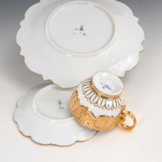 Relief Cup and plate, Meissen. - photo 3