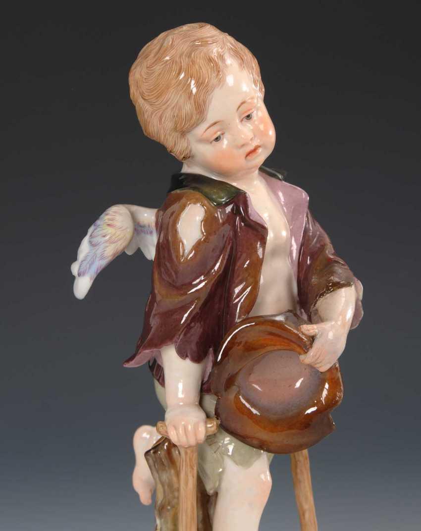 Cupid as a beggar, Meissen. - photo 2