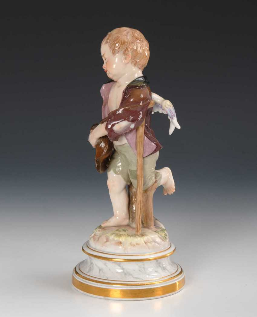 Cupid as a beggar, Meissen. - photo 3
