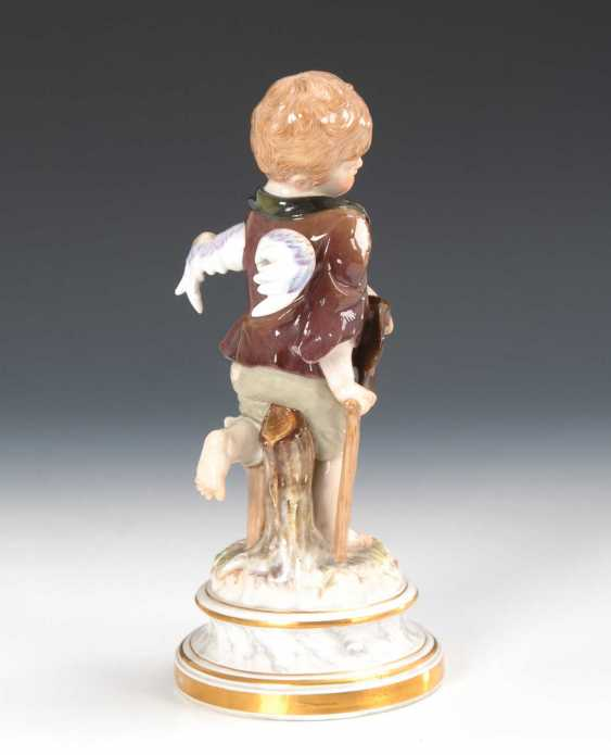 Cupid as a beggar, Meissen. - photo 4