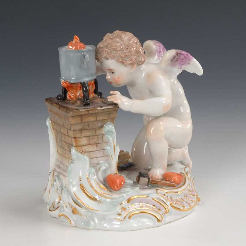 The heart boiling Amor, Meissen. - photo 1