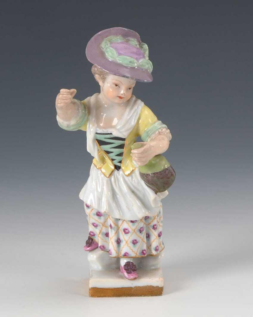 Gardener Girl, Meissen. - photo 1