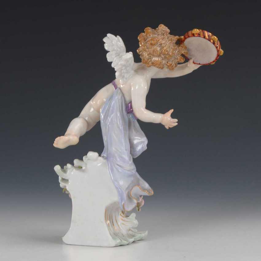 Cupid with tambourine, Meissen. - photo 2