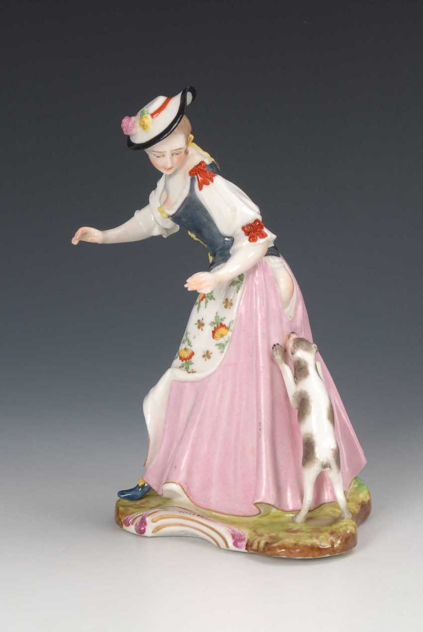 """""""Lady of doggie incurred"""", of the nymphs - photo 1"""