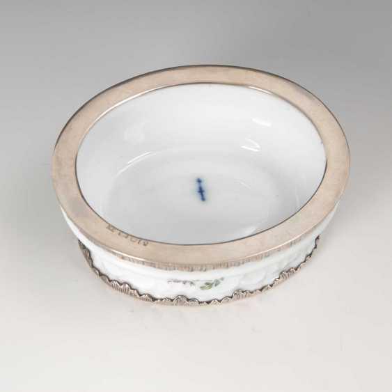 Salt shaker mit Silbermontierung, KPM Berli - photo 2