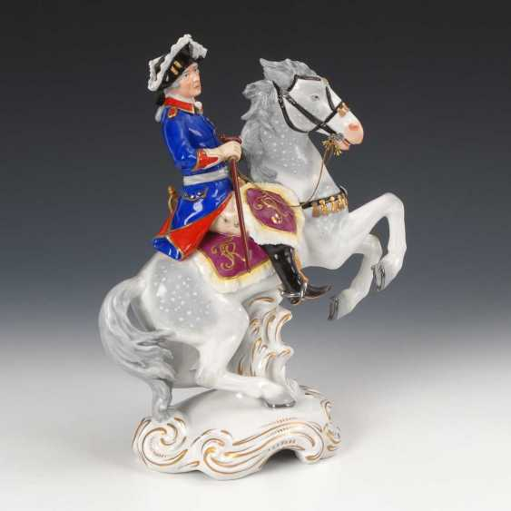 Frederick II on horseback, the seat of the village. - photo 3