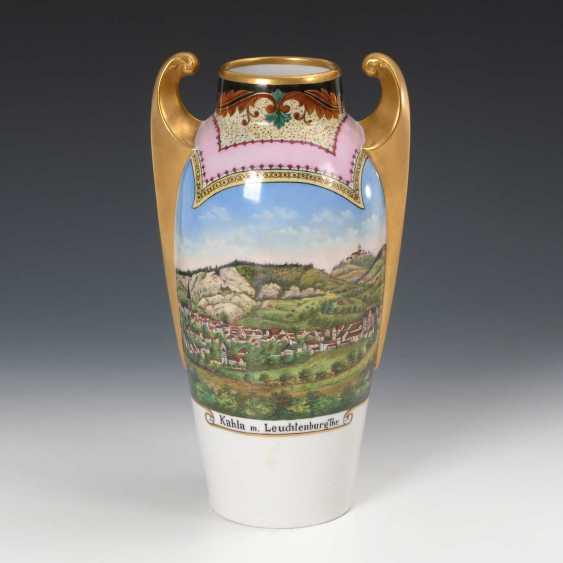 Art Nouveau Vase with Kahla-view. - photo 1