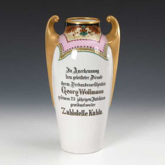 Art Nouveau Vase with Kahla-view. - photo 2