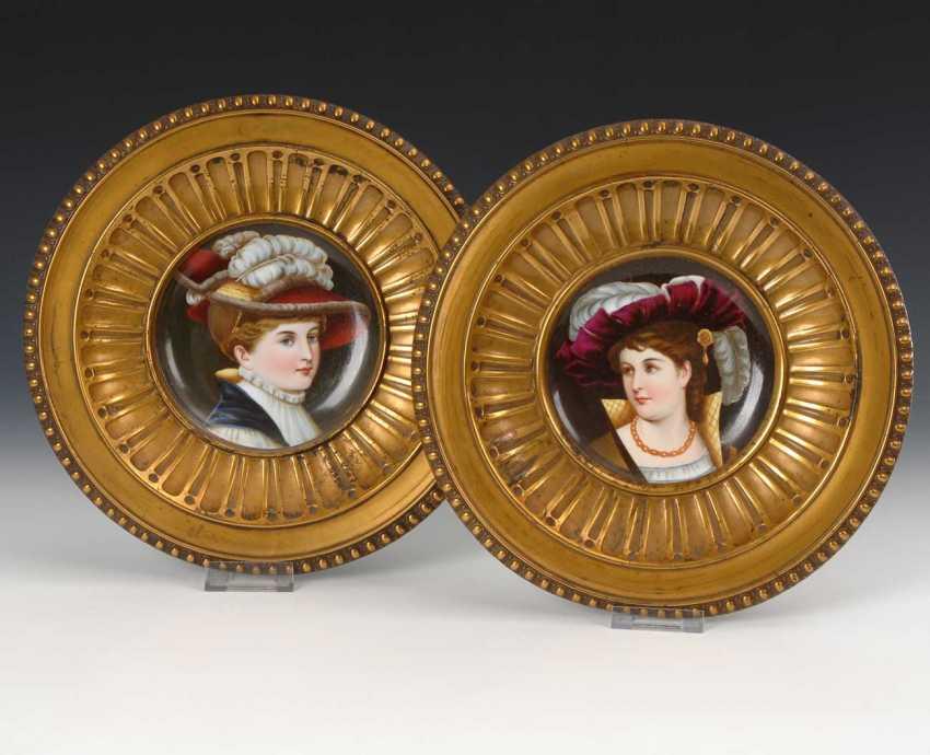 2 Historicism-Portrait Plate. - photo 1