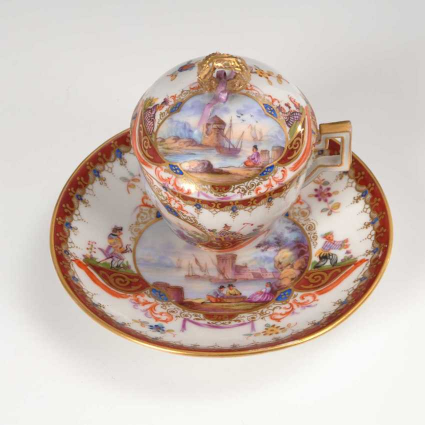 Cover Cup with kauffahrtei-painting. - photo 2