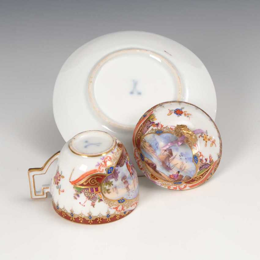 Cover Cup with kauffahrtei-painting. - photo 3