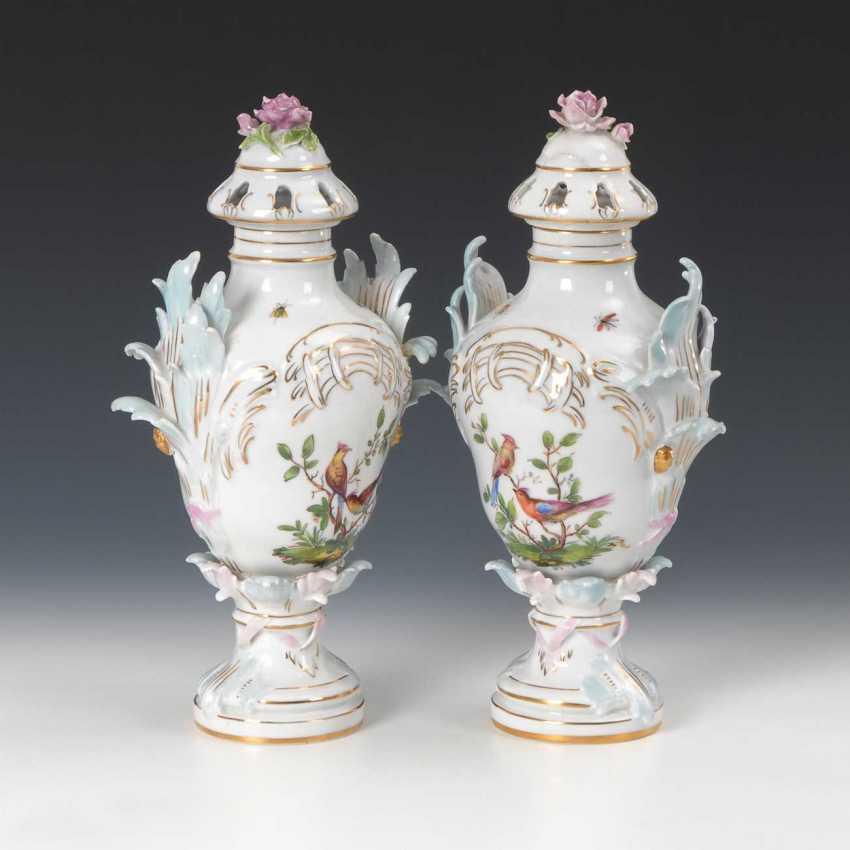 2 Potpourri Vases, Potschappel. - photo 2