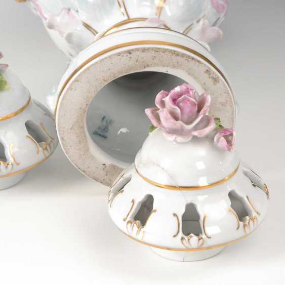 2 Potpourri Vases, Potschappel. - photo 3