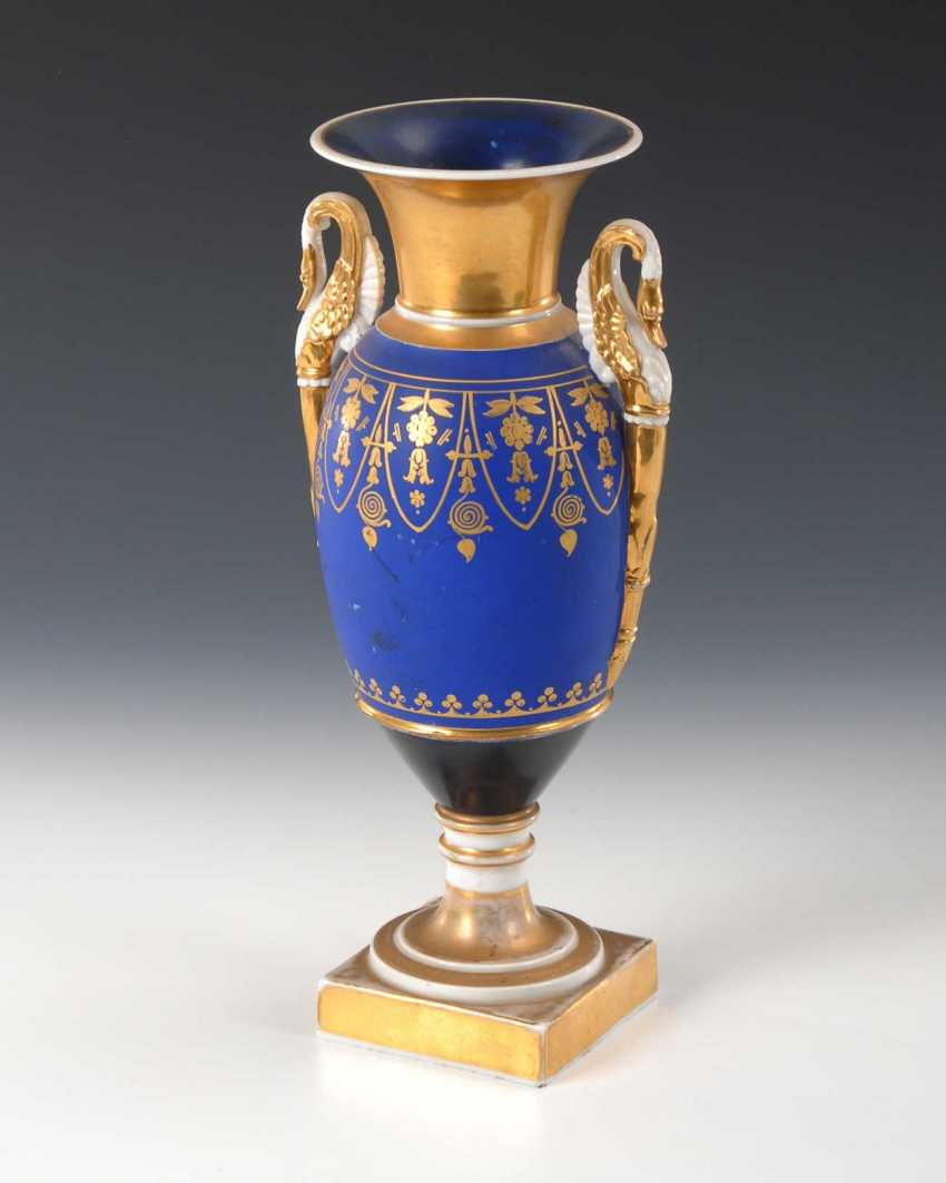 Empire Vase with genre painting. - photo 3