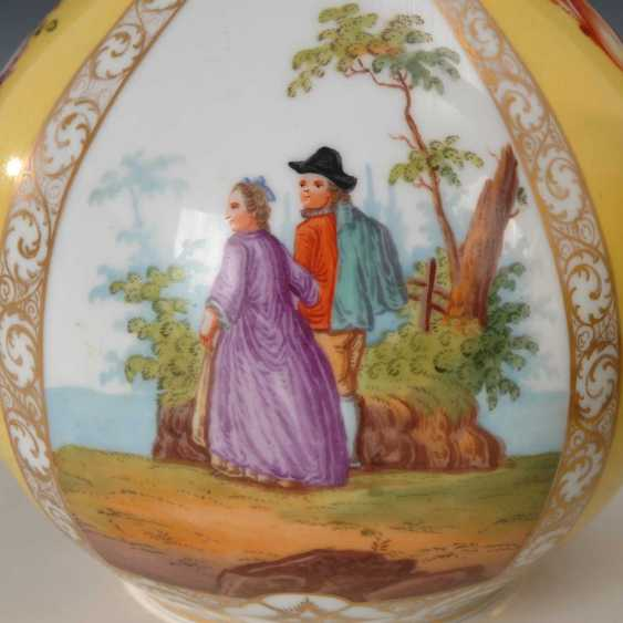 2 vases with four field painting, Dresden. - photo 2