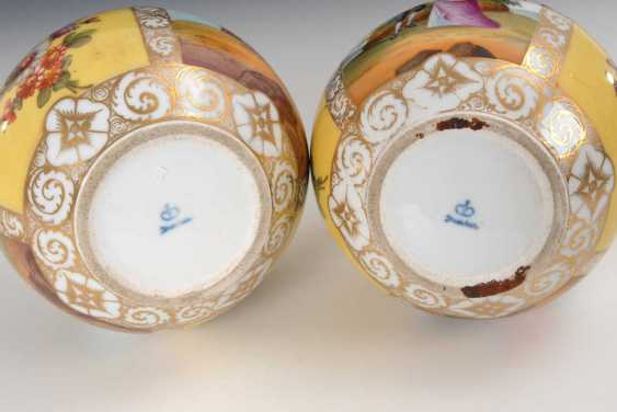 2 vases with four field painting, Dresden. - photo 4